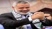 İsmail Haniye: Filistin'in İsrail ile Savaşı Mescidi Aksa Üzerinedir