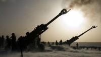 Türkiye Rejimi, Suriye ordusunun teröristlere karşı ilerlemesini önlemek için topçu saldırısı düzenledi