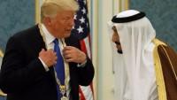 Trump, Suudi Kralı Selman ile görüştü