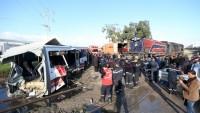 Tunus'ta tren kazası: 5 ölü, 37 yaralı