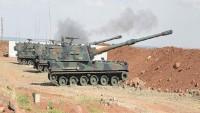 Türkiye ordusundan Suriye'nin iki köyüne saldırdı