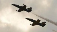 Rusya Ordusuna Ait 2 Savaş Uçağı Havada Çarpıştı