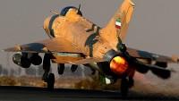 İran İslam Cumhuriyeti Ordusuna Ait Bir F-7 Savaş Uçağı Düştü