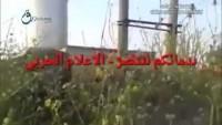 Video – Azılı Terörist Keskin Nişancıya Hedef Olmaktan Kurtulamadı