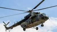 Ukrayna'da askeri helikopter düştü: Beş ölü