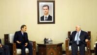 İran Heyeti, Suriye Dışişleri Bakanı Muallim İle Görüştü