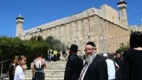 Binlerce Siyonist İbrahim El-Halil Camii'ne Baskın Düzenledi 