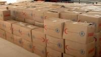 Kunaytra ve Hama Kentlerinde Terör Mağduru Ailelere Yardım Dağıtıldı