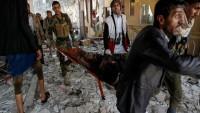 Suud Rejimine Bağlı Uçakları Mazlum Yemen Halkını Bombaladı