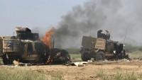 Yemen Hizbullahı'ndan İşgalcilere Ağır Darbe: 11 Askeri Araç, 5 Tank Ve Yüzlerce Asker İmha Edildi