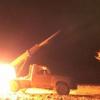 Yemen ordusu topçu birlikleri Arabistan'ın güneyindeki Cizan'ın El Derab askeri üssünü hedef aldı
