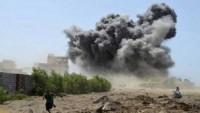 Katil Suud Rejimine Bağlı Savaş Uçakları Mazlum Yemen Halkını Bombaladı! 7 Şehid
