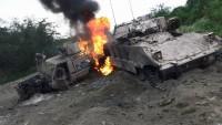 Yemen Hizbullah'ı İşgalci Arap Emirliklerine Ait 4 Askeri Aracı İçindekilerle Birlikte İmha Etti