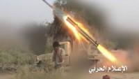 Yemen Hizbullahı Suud Güçlerini Onlarca Katyuşa Füzesiyle Vurdu