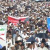 Yemenliler Ülkelerindeki İşgalin ve Kuşatmanın Devam Etmesini Protesto Ettiler
