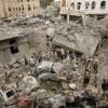 Suud Rejimi Taiz'i Bombaladı