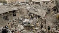 Suudi rejimi liderliğindeki koalisyon güçleri Yemen'i bombaladı: 12 Şehid
