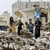 İşgalci Suud Koalisyonu Cephede Taş İle Savaşan Ebu Kasf'ı Hedef Aldı