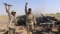 Yemen'in batısında 50 Suud işbirlikçi Münafık Ölü Ve Yaralı Düştü