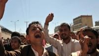 Yemen halkı, Suud rejiminin katliamlarına karşı uluslar arası camianın sessiz kalmasını protesto etti