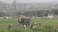 Yahudi Yerleşimciler Selfit Şehrinde Filistin Topraklarını Gasp Ettiler