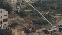 Siyonist İsrail Güçleri Şehit Alyan ve Şehit Ebu Cemel'in Evlerini Yıktı