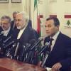 İran dışişleri bakanı Beyrut'ta basın toplantısı düzenledi
