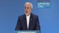 Zarif: İran halkı Suriye halkının sıkıntılarını azaltmaya çalışıyor