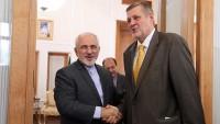 Zarif ve BM Irak temsilcisi arasında görüşme