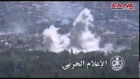 Video: Suriye Ordusunun Zebadani Operasyonlarından Kareler