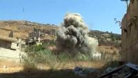 Suriye Ordusu ve Hizbullah Mücahidleri, Zebadani'de bir terör karargahını imha etti