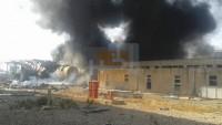 Foto: Teröristler Hama kuzey kırsalında Zeyzun termik santralinin yakıt tanklarını havaya uçurdu