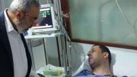 Şam'da el'Alem kanalının temsilcilik ofisi müdürü Hüseyin Murtaza, teröristlerle çıkan çatışmada yaralandı