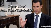 Suriye Cumhurbaşkanı Beşşar Esad'ın Suriye krizini değerlendirdi